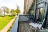 Apartamentas Preiloje ant Kuršių marių kranto, balkonas su vaizdu į marias - 9