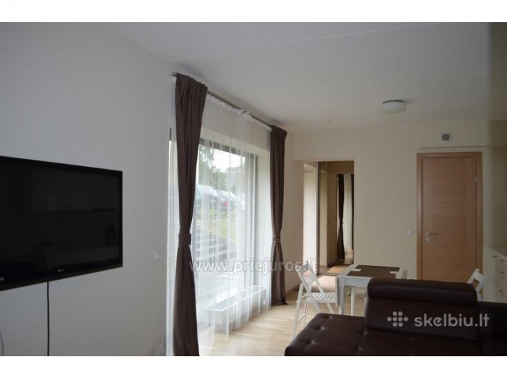 Prabangus 2 kambarių butas Palangoje su atskiru įėjimu ir didele terasa - 4