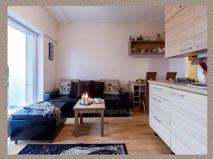 1 kambario, 4 miegamųjų vietų butas Vanagupėje - 6