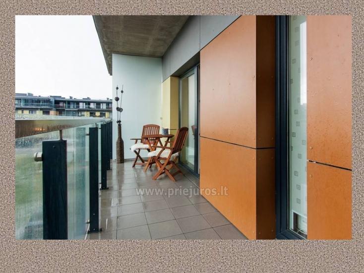 1 kambario, 4 miegamųjų vietų butas Vanagupėje - 9