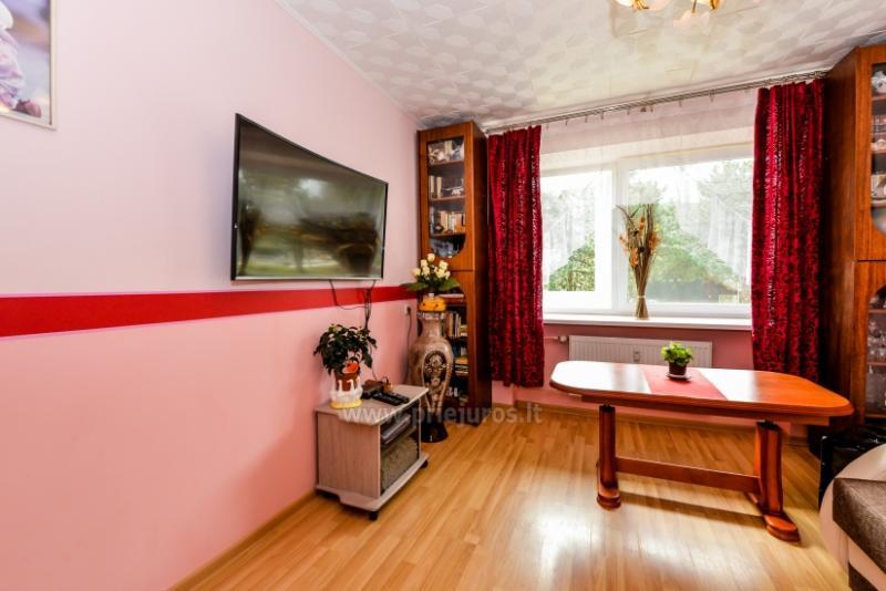 Trijų kambarių butas Nidos centre