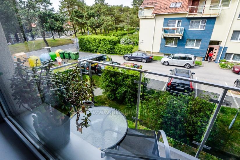 Trijų kambarių butas Nidos centre - 9