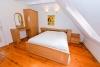 Dviejų miegamųjų apartamentai su židiniu, balkonu - 14