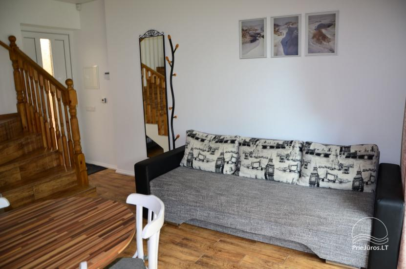 New cottages and rooms for rent in Sventoji. - 6