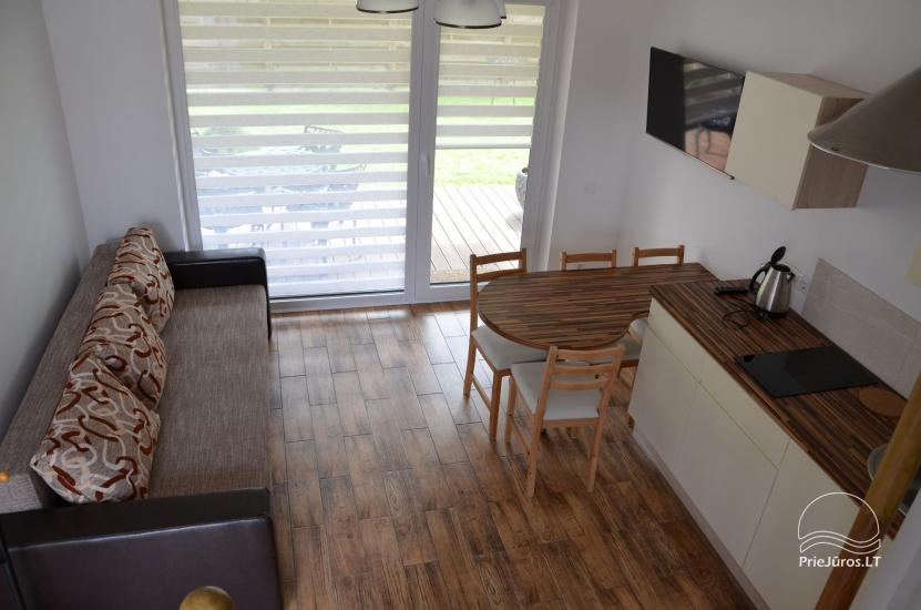 New cottages and rooms for rent in Sventoji. - 12