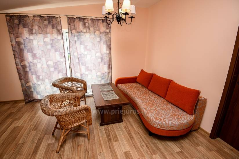 Apartment in Palanga 300 m to the beach. Large balcony, enclosed territory - 4