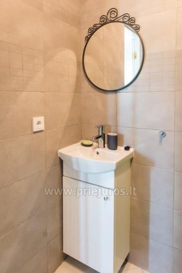 Mājīgs, moderni aprīkotas 2 istabas dzīvokli Sventoji - 10