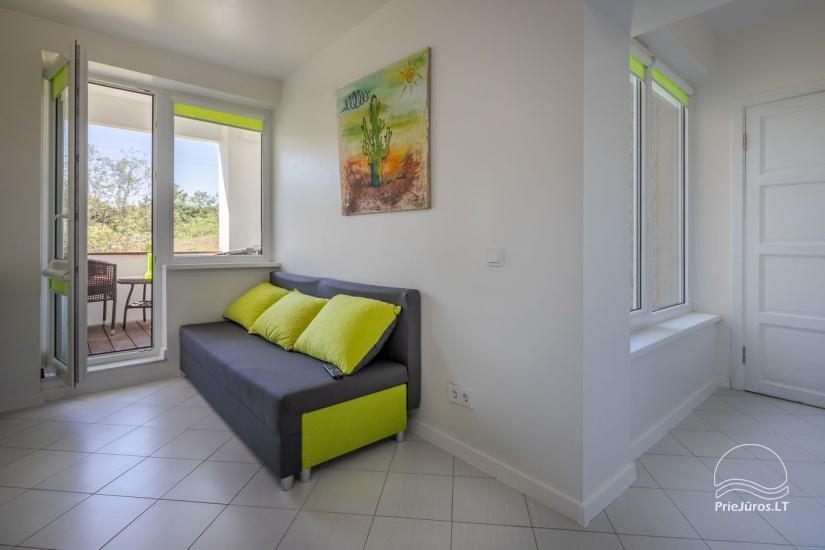 Mājīgs, moderni aprīkotas 2 istabas dzīvokli Sventoji - 5