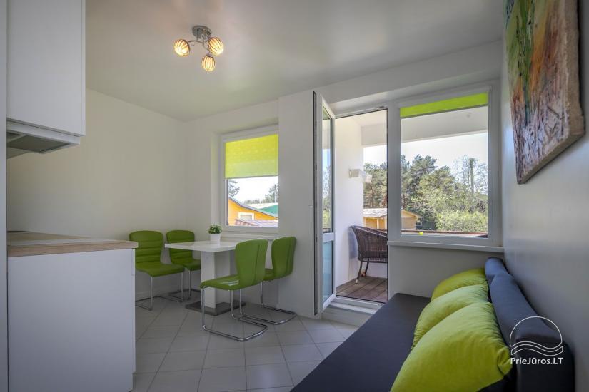 Mājīgs, moderni aprīkotas 2 istabas dzīvokli Sventoji - 2