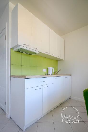 Mājīgs, moderni aprīkotas 2 istabas dzīvokli Sventoji - 3