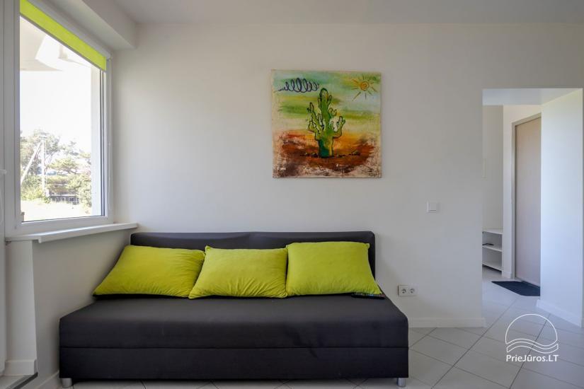 Mājīgs, moderni aprīkotas 2 istabas dzīvokli Sventoji - 4