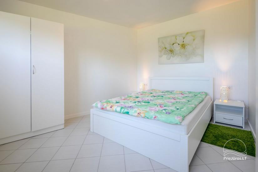 Mājīgs, moderni aprīkotas 2 istabas dzīvokli Sventoji - 6