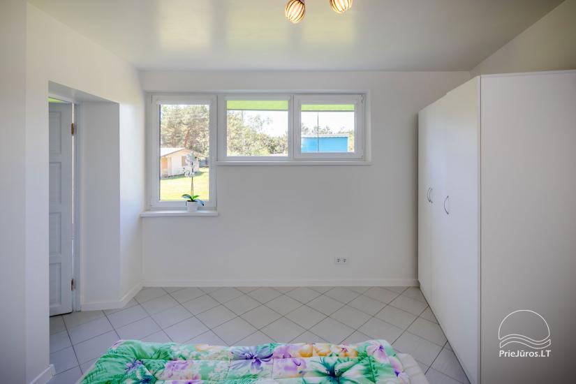 Mājīgs, moderni aprīkotas 2 istabas dzīvokli Sventoji - 7