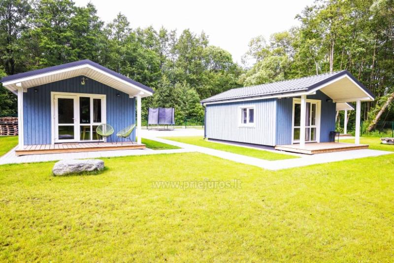 Three little holiday houses for rent in Karkle, Lithuania