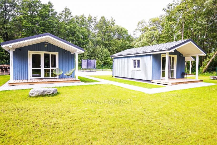Three little holiday houses for rent in Karkle, Lithuania - 1