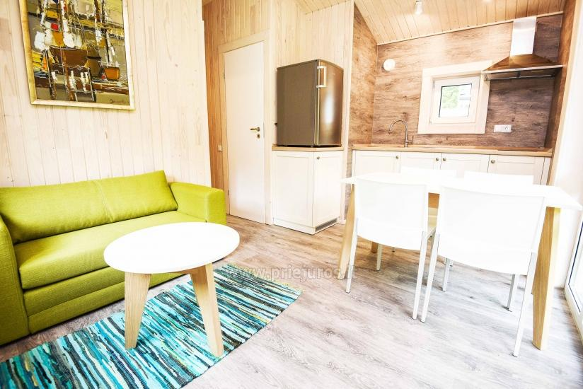 Three little holiday houses for rent in Karkle, Lithuania - 4