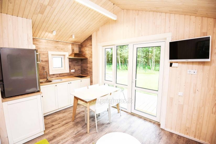 Three little holiday houses for rent in Karkle, Lithuania - 6