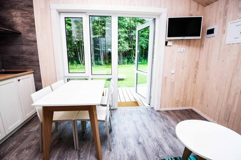 Three little holiday houses for rent in Karkle, Lithuania - 12