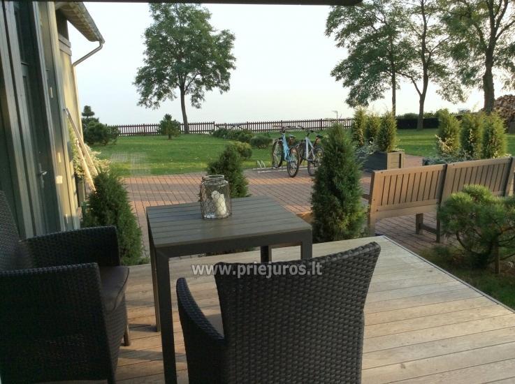 Skaists dzīvoklis ar terasi un skatu Kuršu lagūna Preilas - 1