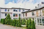 Apartamentai Juodasis krantas Juodkrantėje su lauko terasa prie poilsio namų Ąžuolynas