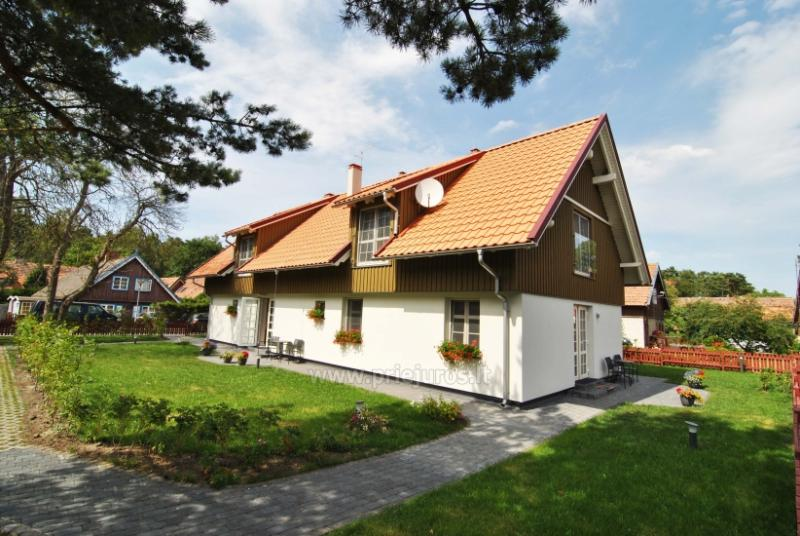 Villa Nida apartamentai prie Kuršių marių naujoje viloje
