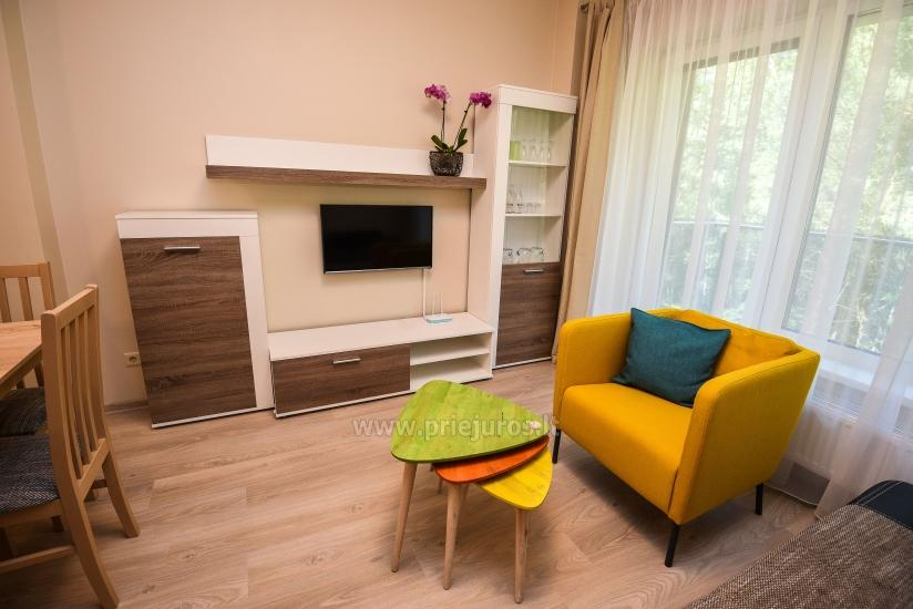 2 rooms flat with parking. TV, Internet, air conditioner - 2
