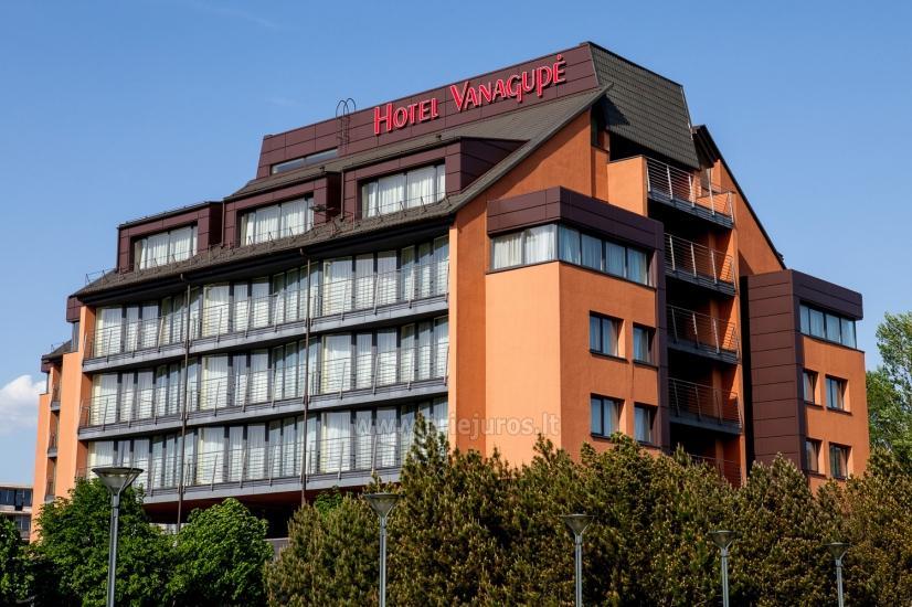 """Hotel in Palanga """"Vanagupe"""" *****"""