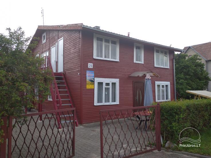Tvarkingų kambarių ir namelių nuoma Šventojoje - 1