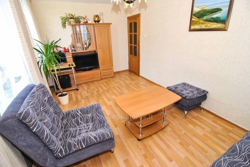 Apartment for rent in Nida (up to 6 persons), next to the lagoon. Summerhouse in the yard. - 12