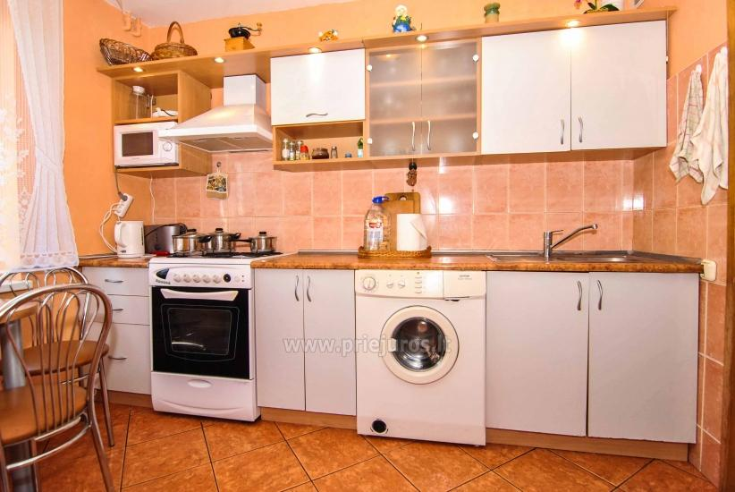 Apartment for rent in Nida (up to 6 persons), next to the lagoon. Summerhouse in the yard. - 19