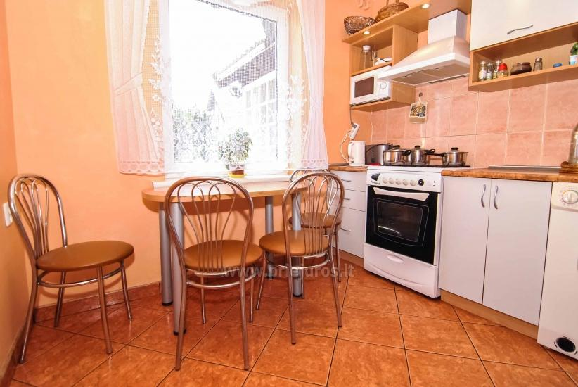 Wohnung zur Miete in Nida (bis zu 6 Personen), neben der Lagune. Gartenhaus im Hof. - 20