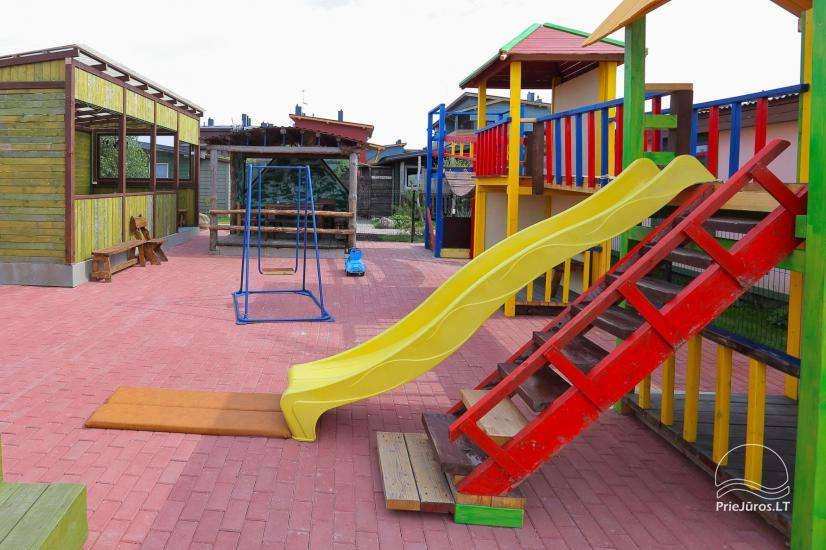 Namelių nuoma Pylimo slėnis su vaikų žaidimo aikštele - 30
