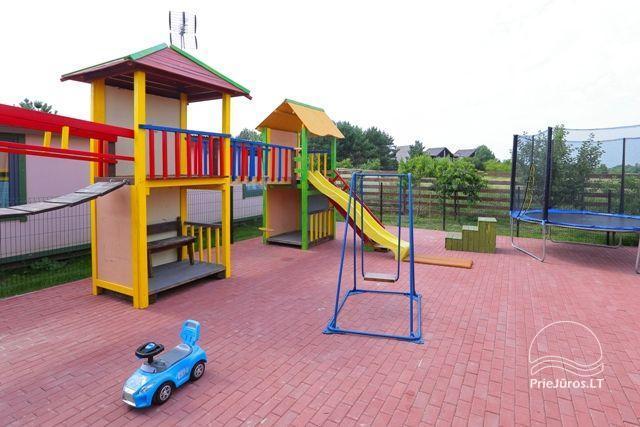 Namelių nuoma Pylimo slėnis su vaikų žaidimo aikštele - 31