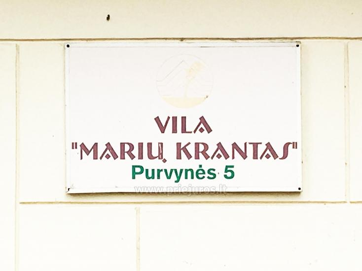 Vila Marių krantas. Dviviečiai - šešiaviečiai kambariai Nidoje ant marių kranto - 6