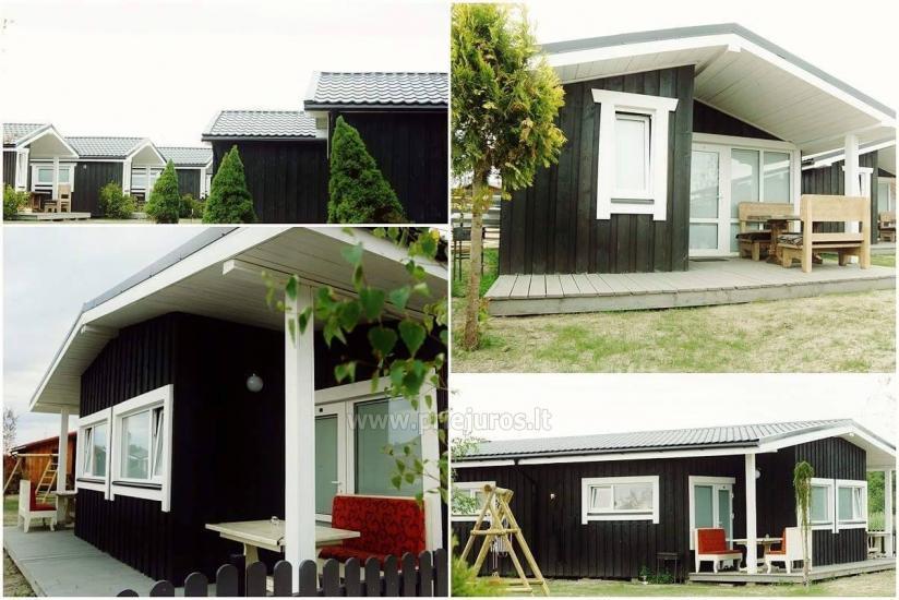 Jaunas vienu i divu istabu koka mājas Sventoji - 6