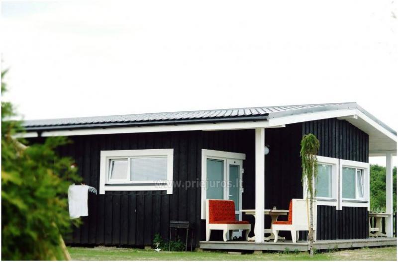 Neue Eine-Zwei-Zimmer-Holz kleine Häuser in Sventoji
