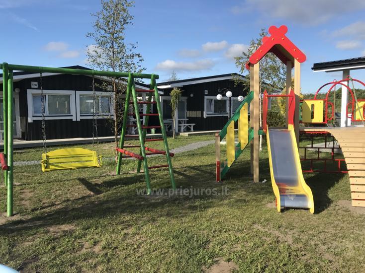Neue Eine-Zwei-Zimmer-Holz kleine Häuser in Sventoji - 15
