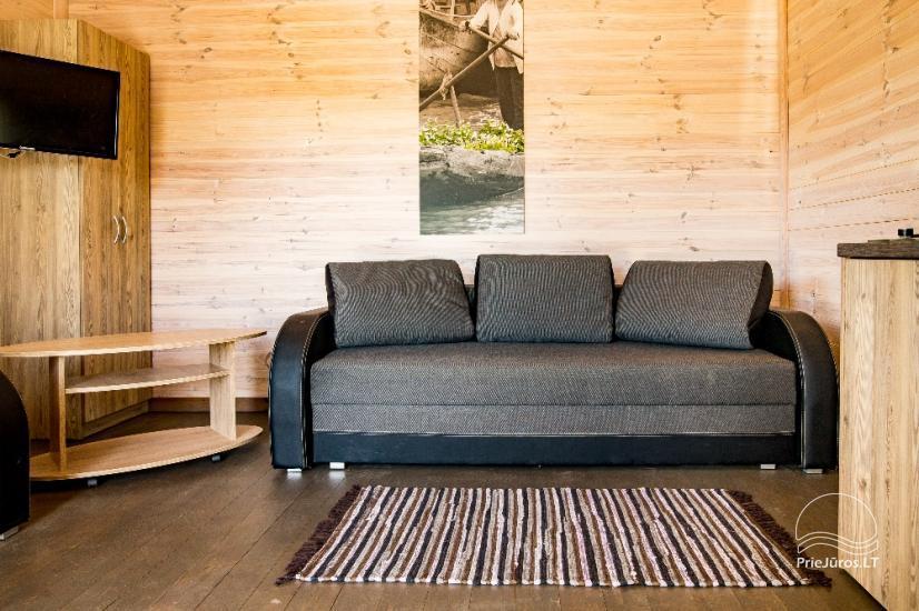 Neue Eine-Zwei-Zimmer-Holz kleine Häuser in Sventoji - 19