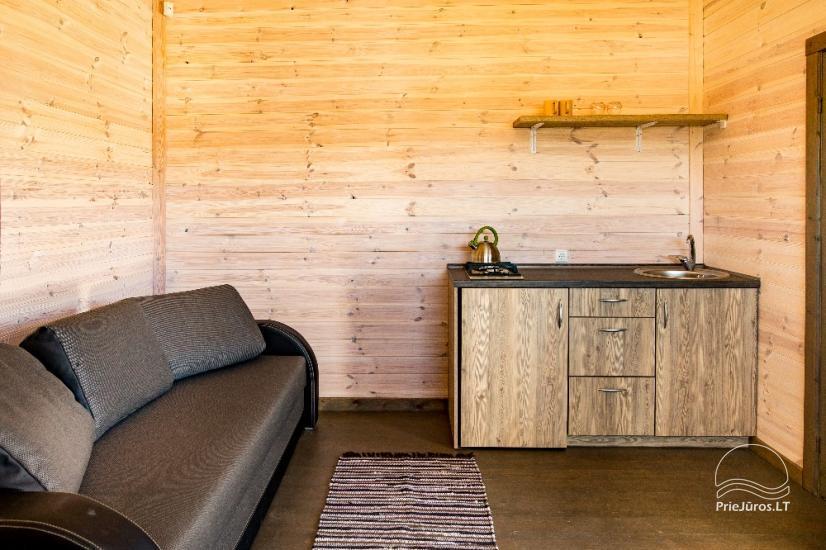 Neue Eine-Zwei-Zimmer-Holz kleine Häuser in Sventoji - 20