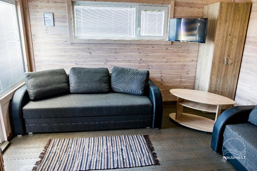 Neue Eine-Zwei-Zimmer-Holz kleine Häuser in Sventoji - 21