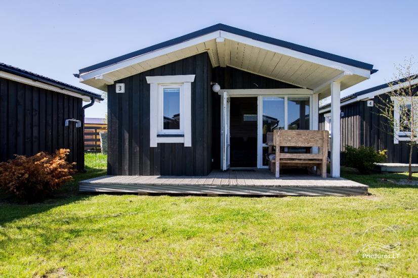 Neue Eine-Zwei-Zimmer-Holz kleine Häuser in Sventoji - 22