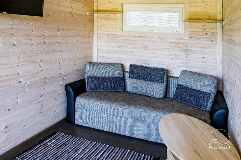 Neue Eine-Zwei-Zimmer-Holz kleine Häuser in Sventoji - 24