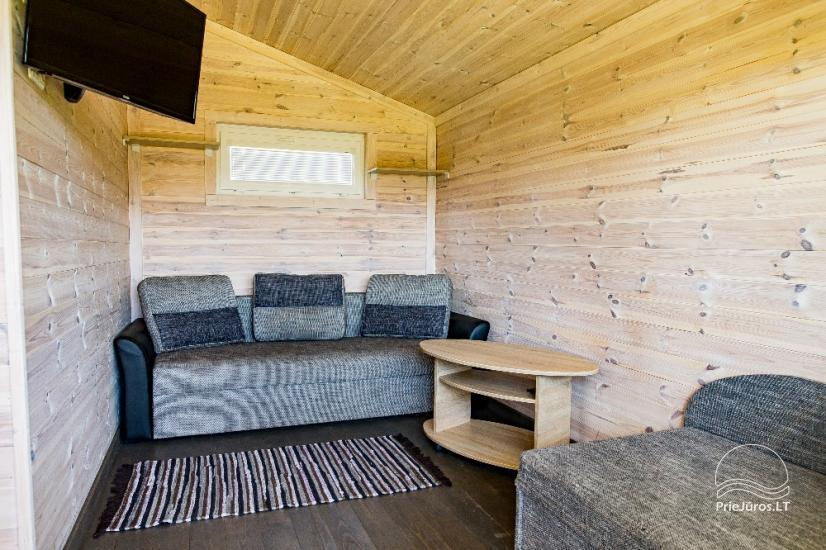 Neue Eine-Zwei-Zimmer-Holz kleine Häuser in Sventoji - 26
