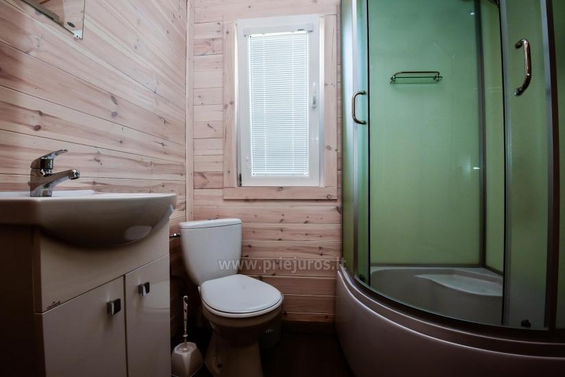 Jaunas vienu i divu istabu koka mājas Sventoji - 7