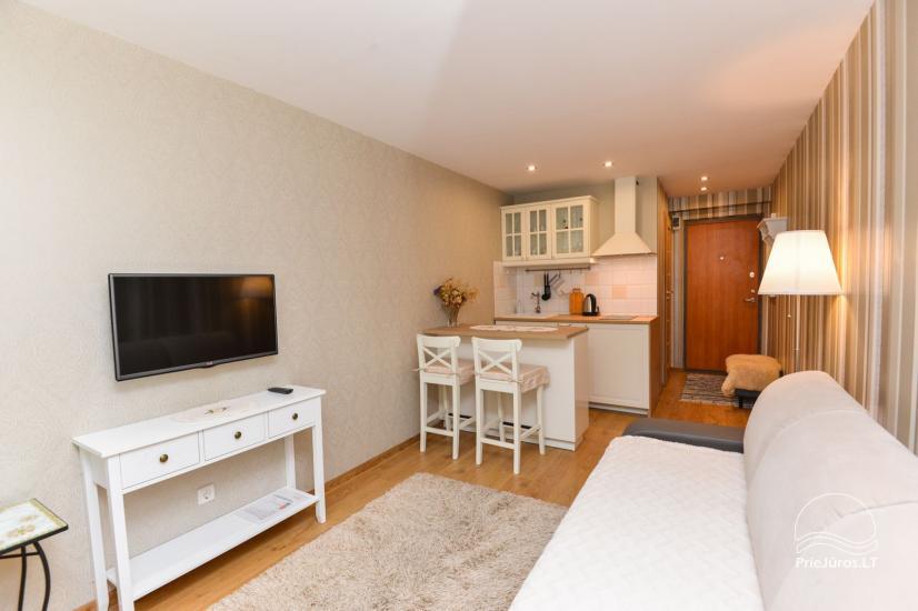 1 room flat rent in Nida - 1