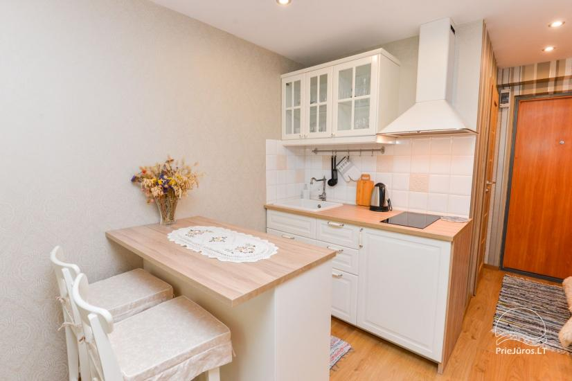 1 room flat rent in Nida - 3