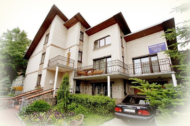 Vila Palangoje Pas Justiną. Kambariai, apartamentai, namelis.