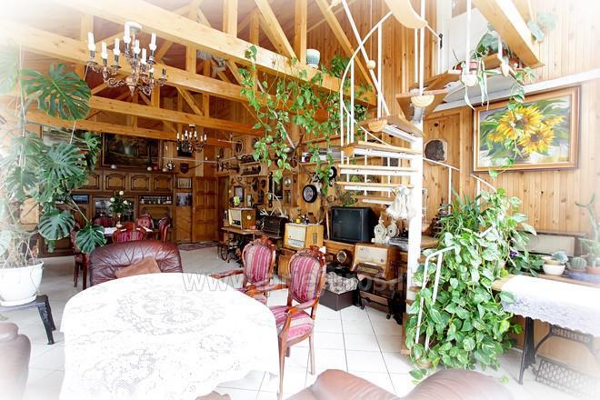Villa in Palanga Pas Justina. Ferienwohnungen, Zimmer, Ferienhutte - 3