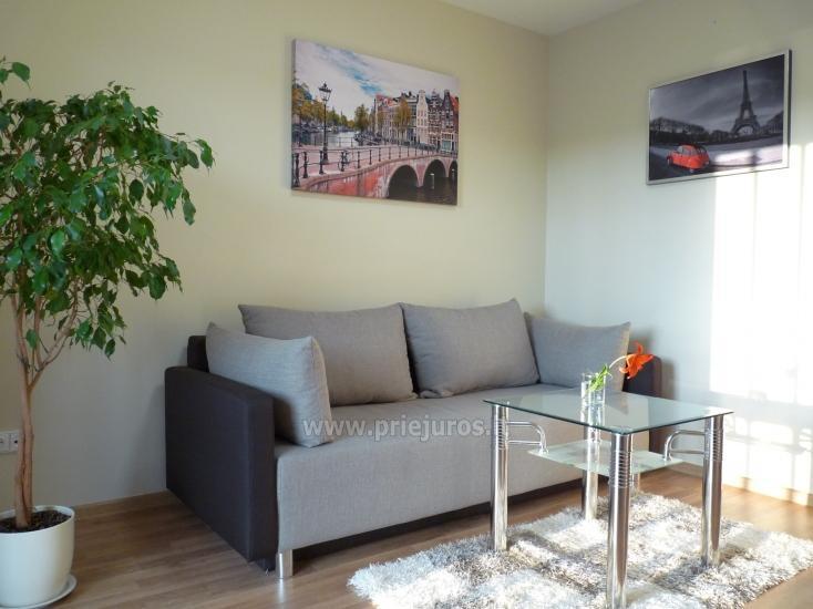 Jaukūs, nauji 1 kambario skandinaviško tipo apartamentai Palangoje Saulės Takas - 1