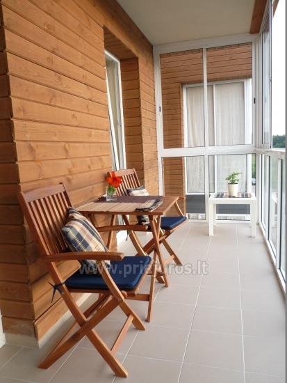 Jaukūs, nauji 1 kambario skandinaviško tipo apartamentai Palangoje Saulės Takas - 7